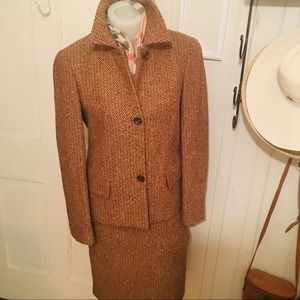 Vestimenta Spa Suit - S made in Italy , rust tweed
